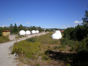 New Mexico Skies Observatory Row