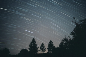 Star Trails are real easy to image at NM Skies